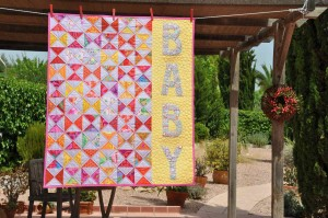 'Oh baby, baby' quilt