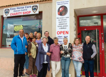 The Easy Horse Care Rescue Centre's new Gran Alacant charity shop.